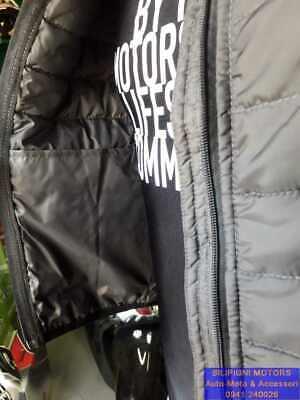 Dettagli su JOLLISPORT Gilet Moto STRANGE Ultraleggero Nero Utilizzabile come Sottogiacca
