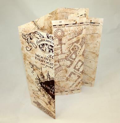 c396a779fb ... Harry Potter The Marauder's Map Hogwarts School of Witchcraft &  Wizardry **NEW**
