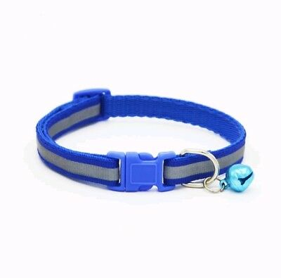 Reflective Dog Cat Kitten Collar Pet Puppy Adjustable Harness with Bell 3