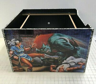 Arcade1up Cabinet Riser Graphics - Street Fighter 2 II Graphic Sticker Decal Set 2