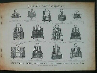 Victorian House Furnishings Designs Catalogue  **(See Description For Details)** 6