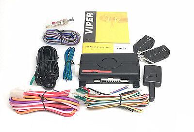 Viper 4105V Remote Car Starter & DB3 Bypass (2) 4-Button Remotes Keyless NEW 3