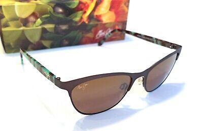 6c55ca2f71aff ... NEW Maui Jim Popoki H729-01S Chocolate Polarized Sunglasses Cat eye  women s 2
