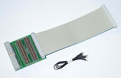 Prüf Adapter  34 pol Pfostenverbinder Flachkabel Wannenstecker 230465-D