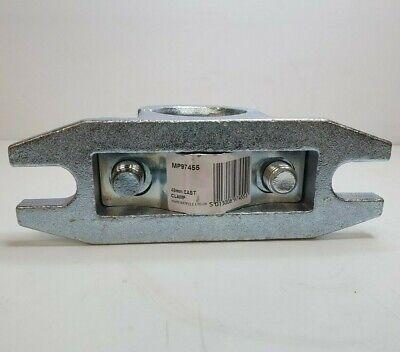 Jockey Wheel Steel Clamp 48Mm Serrated Ribbed Trailer Prop Stand Maypole Mp97455 8