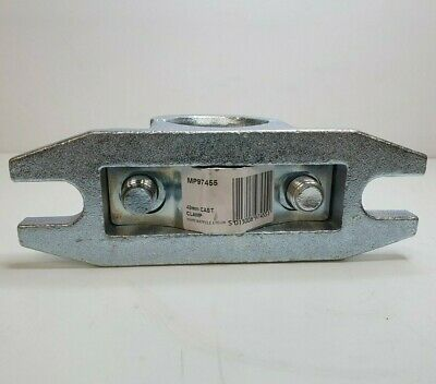 Serrated Steel Clamp 48Mm Ribbed Trailer Jockey Wheel Prop Stand Maypole Mp97455 8