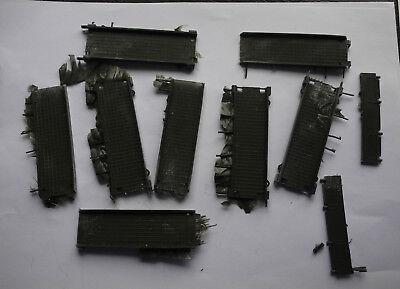 Pièces pour Dinky: ensemble passerelle pont brockway teintée verte référence 884 2