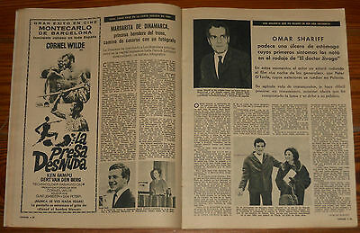 LECTURAS 1966 Duo Dinamico Jackie Kennedy Paul Newman Patricia Neal Dean Martin