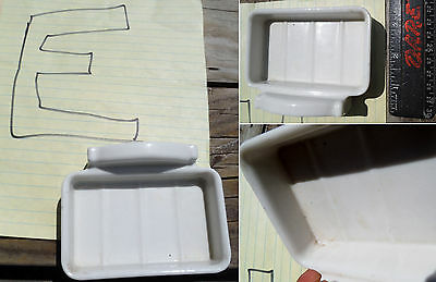 Choose Pick One...Antique Porcelain Bathroom Soap Dish, Cup\Toothbrush Holders 8