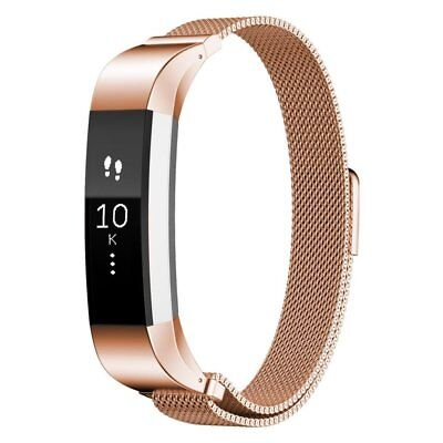 For Fitbit Alta / Alta HR Magnetic Milanese Stainless Steel Watch Band Strap 3