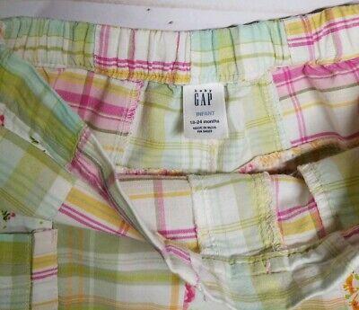 Baby Gap Girls Plaid Madras Shorts Size 18-24M EUC 4