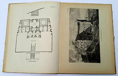 """1939 Charles Cameron Architect """"TERMS of ROMANS"""" Illustrated Book Russian Edit. 5"""