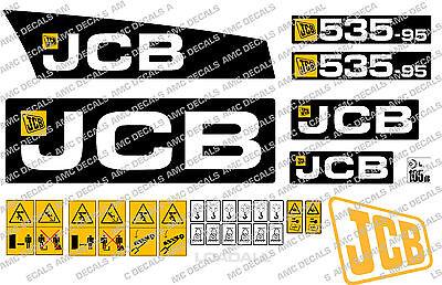 JCB 535-95 DECAL STICKER SET