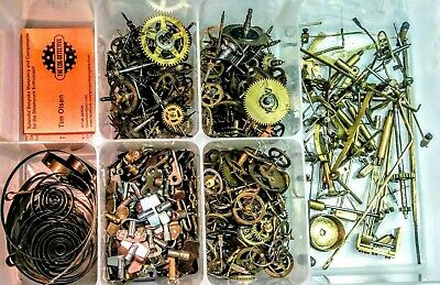 Clock parts, Cogs & Gears for use in Steampunk Outfits, Cosplay and Clock Repair 5