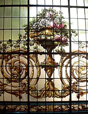 Stained Glass Window, Signed M. Casanova #6037 2