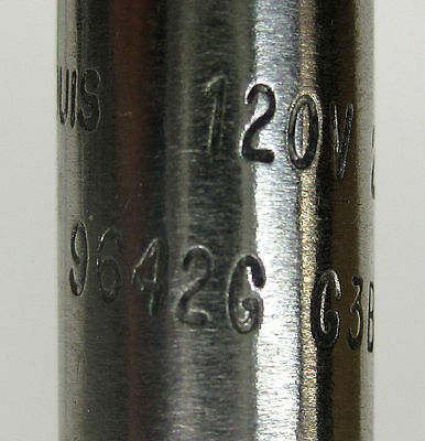 Watlow Firerod Cartridge Heater 250W 120V 9642G G3Bx12A-Dx3C 4