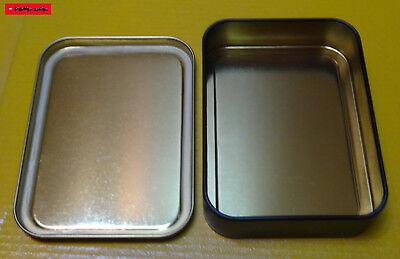 Square Box Metall Dose mit Deckel Luftdicht Motiv WISEGUYS Munition Patronen