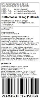Koniferendünger XL 1 Liter Tannen-Dünger NPK für Koniferen mit Schnellwirkung 3
