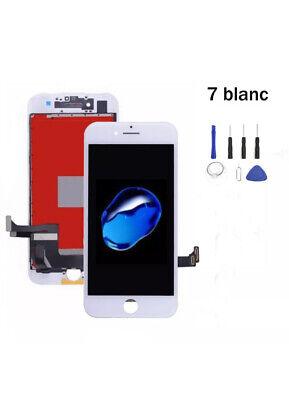 Vitre Tactile + Ecran Lcd Retina Assemblé Sur Chassis Pour Iphone 7 Noir /Blanc 3