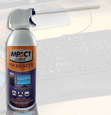 Air Duster Compressed Canned Air Keyboard Computer TV Dust Off 10oz 4-8-12-16 pk 3