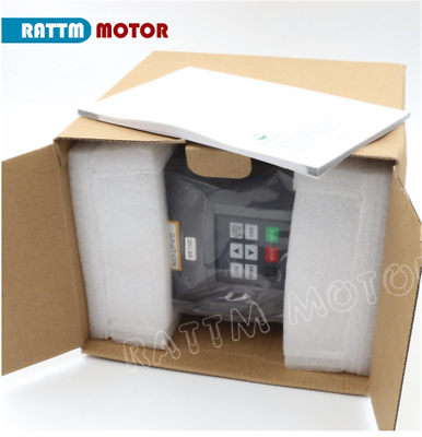 「FR」HY 2.2KW 220V VFD Inverter Converter Variable Frequency Drive Speed Control 8