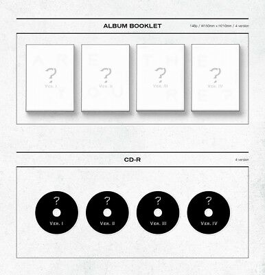 MONSTA X 2nd Album [TAKE.1 ARE YOU THERE?] Random Ver. CD+Photobook+2p Photocard 3