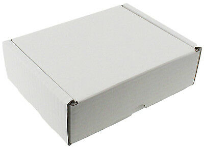 White Shipping Boxes Postal Mailing Gift Wedding Packet Small Parcel Cardboard 3