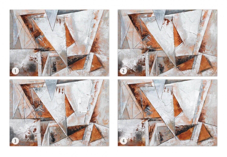 Acryl Gemälde 'GIER NACH FREIHEIT' | HANDGEMALT | Leinwand Bilder 120x80cm 8