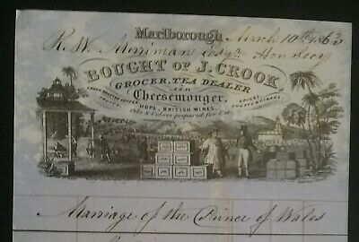 Victorian Invoice For Goods ******(See Description For Details)****** 3