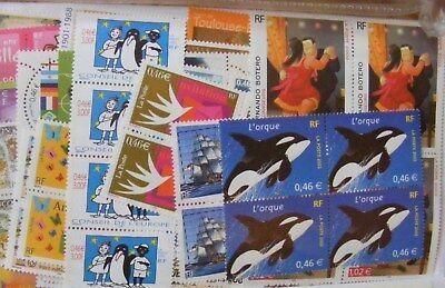 Lot FRANCE timbres neufs FACIALE 10 € pour 7,79 € LIVRAISON GRATUITE 2