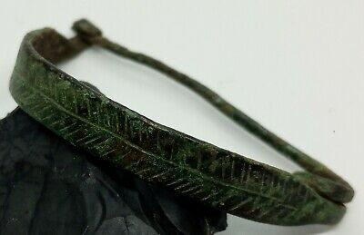 Art Bronze Fibula Ornament / Celtic Scythians Koban 1000BC. 2