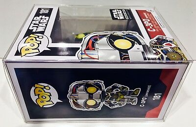 """60 FUNKO POP! Box Protectors For 4"""" Vinyl Figures  Crystal Clear Display Cases 5"""