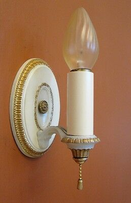 Vintage Lighting six 1920s Colonial Revival sconces by Lightolier 3
