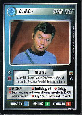 Star Trek CCG Trouble With Tribbles komplettes Master Set Eingeschlossen UR