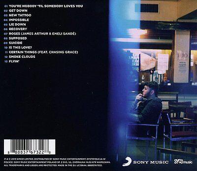 JAMES ARTHUR James Arthur 13-trk CD NEW/UNPLAYED X Factor Emeli Sande s/t 2