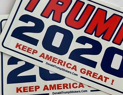 Trump 2020...Keep America Great ! ...Campaign.. Yard Sign with Stake + 2 Decals 3