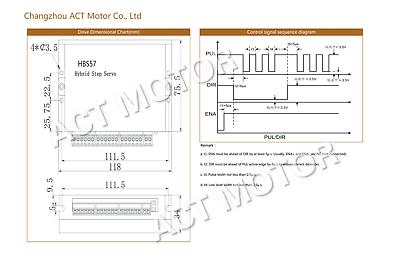 ACT MOTOR GMBH 1PC Nema23 Closed Loop Schrittmotor 23SSM6440-EC1000 1.1Nm 4A