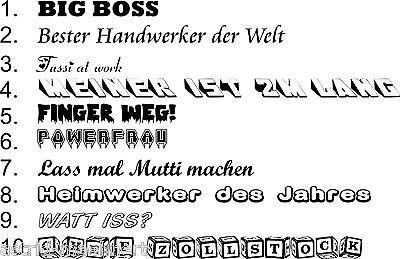 Zollstock mit Namen NORBERT Lasergravur Handwerkerqualit/ät