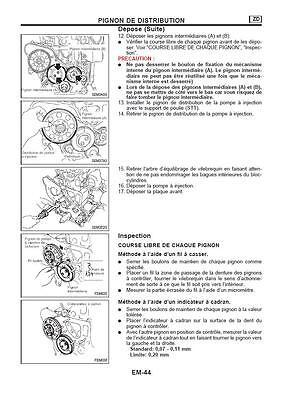 manuel atelier entretien réparation technique nissan terrano - ford maverick Fr