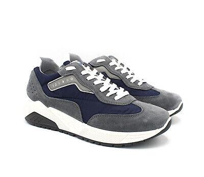 Igi/&Co scarpe casual da uomo in camoscio Jeans IgiCo Igi Co estive sneakers 43