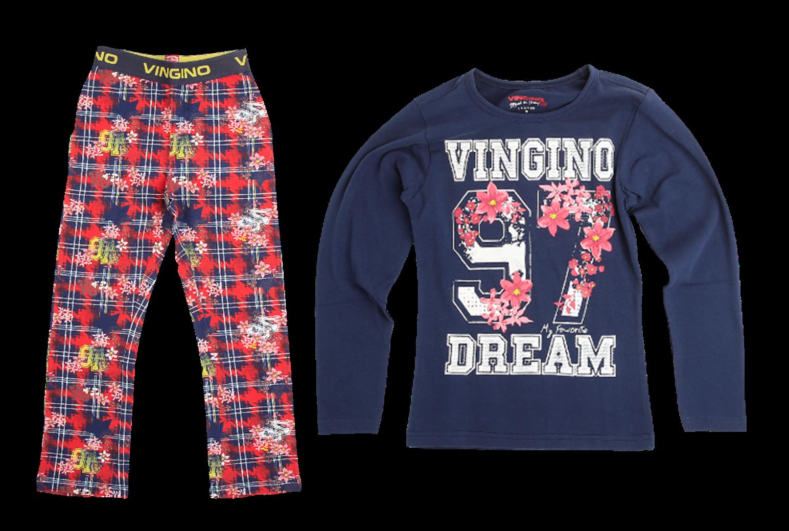 Vingino Schlafanzug/Pyjama WALES dark blue 98/104 - XXS NEU reduziert 3