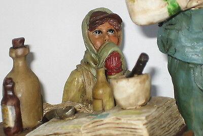 Der Apotheker, Deko Figur, Nostalgie Stil, aus Polyresin, abwaschbar, 21x13x10cm