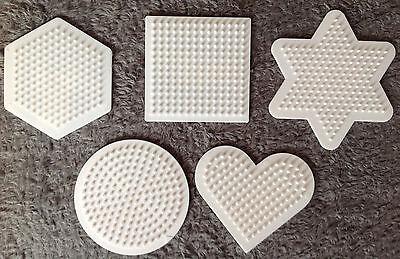 Herz Hama Stiftplatten Kreis Viereck Und Sechseck