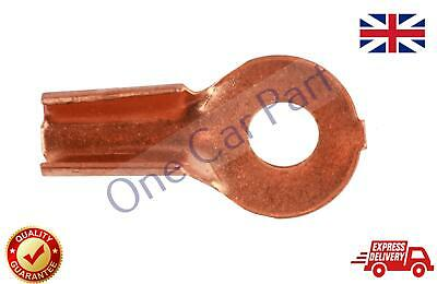 1X 10-25 mm2 8-4 AWG Open Cable Non insulated Ring Battery Copper Lugs Terminal 2