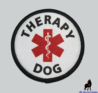 ALL ACCESS CANINE™ Support Animal ESA Dog - Service Dog - Therapy Dog Patches 4