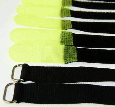 50 x Velcro Fascette per cavi 160 x 16 mm Blu Chiaro Cavo Nastro Di Velcro Cavo Velcro nastro di velcro