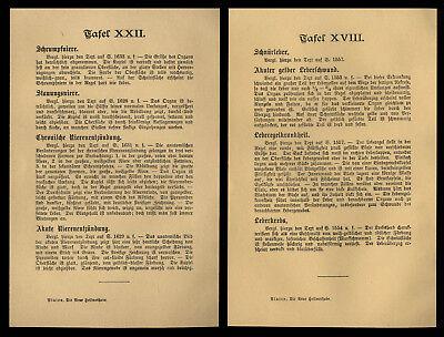 2 original Farb-Lithographien 1898 Lehrtafeln Organe Niere und Leber Internist