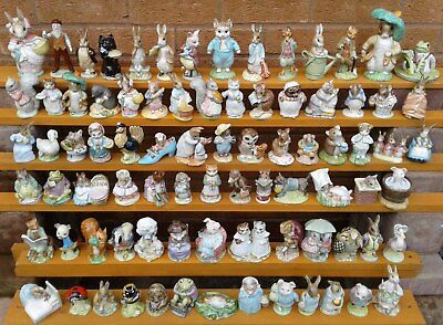 BEATRIX POTTER - BESWICK / ROYAL ALBERT - N to Y FIGURINES.