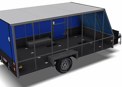 Trailer Plans - 6m ENCLOSED & 4m ENCLOSED MOTORBIKE TRAILER PLANS - on CD-ROM 8