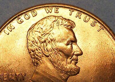 1995 Doubled Die Obverse Error Lincoln Cent Uncirculated Memorial Penny 1C Piece 5